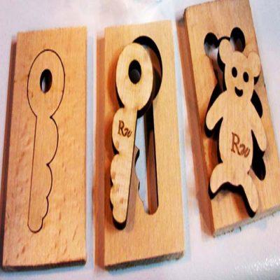חיתוך פזל עץ בלייזר