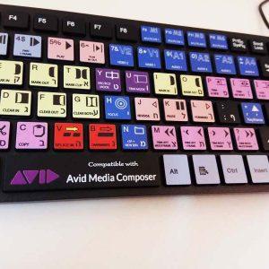מקלדת AVID Composer USB שחורה