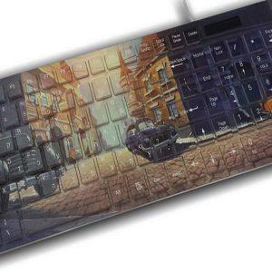הדפסת תמונה על מקלדת